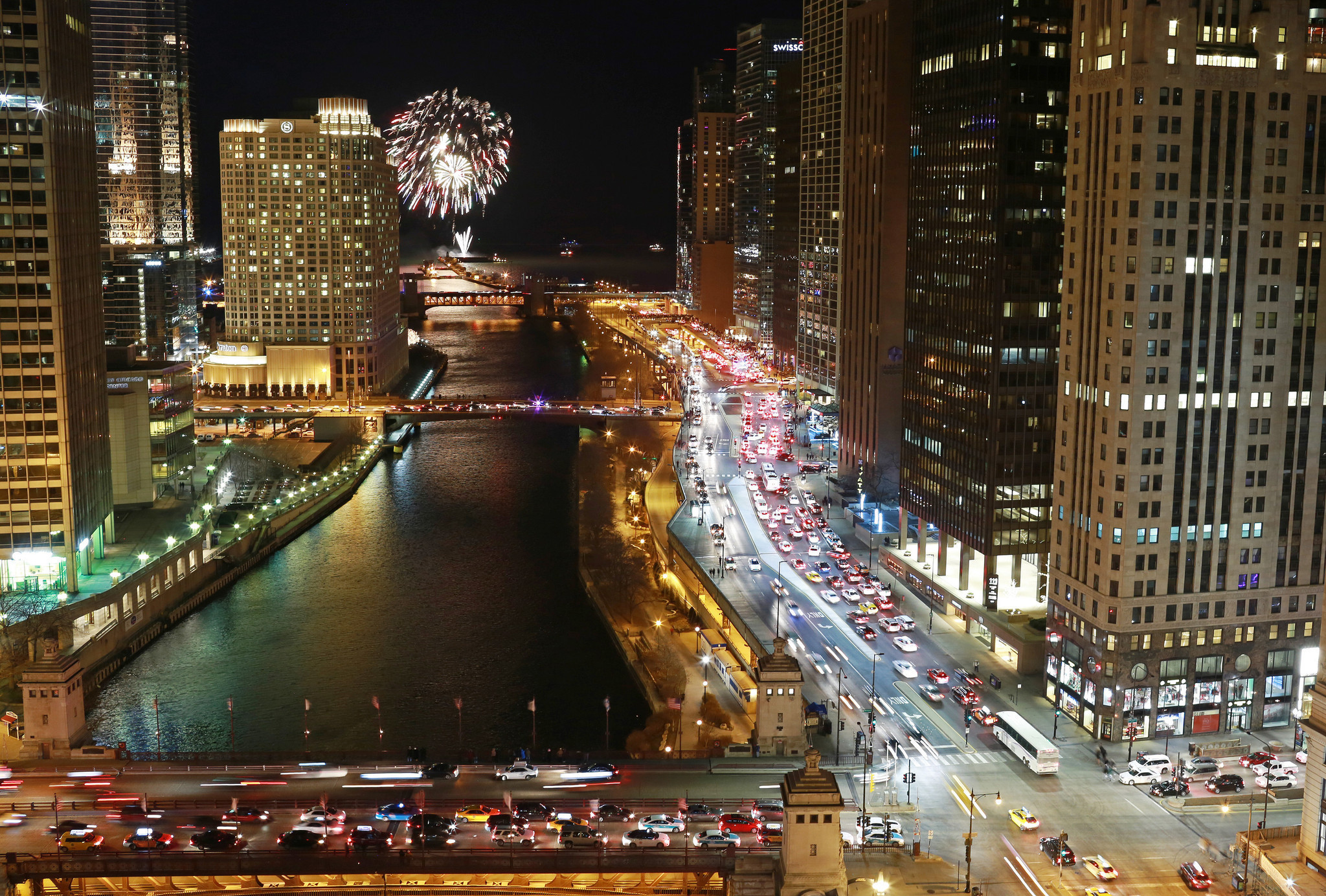 Welcome the New Year in Chicago
