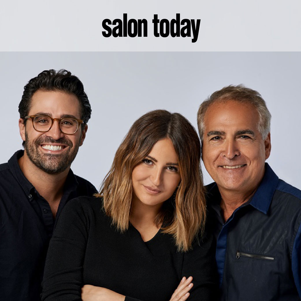 Salon Today featuring Philippe, Olivia, and Charles