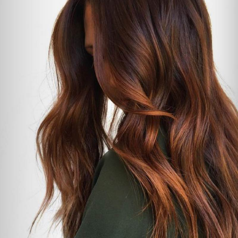 fall brunette hair color