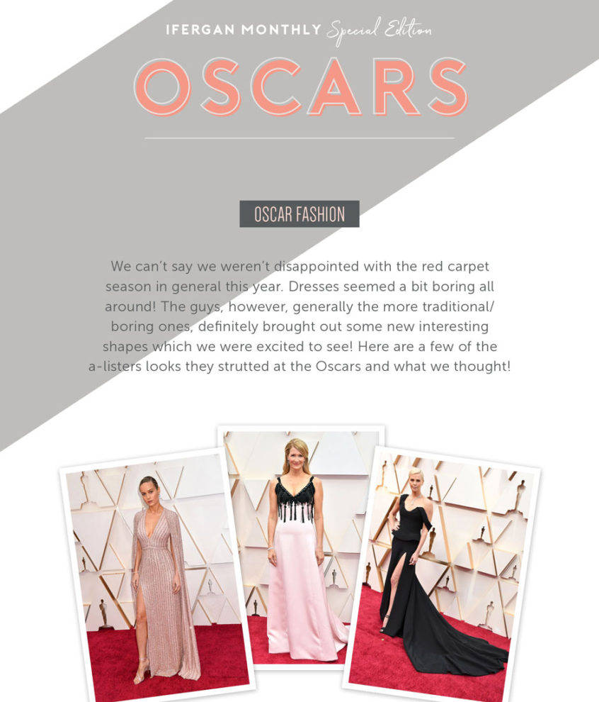 March 2020 Newsletter - Oscars