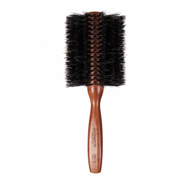 X-Large Spornette Italian Boar Bristle Round Brush