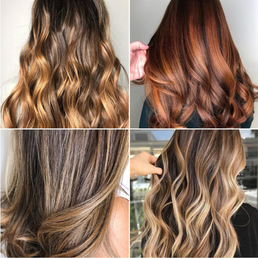 SUmmer bronde hair colors