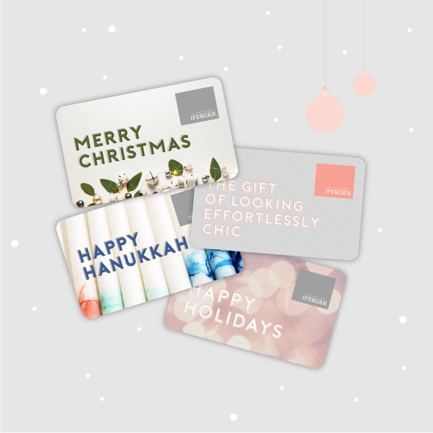 Charles Ifergan Holiday Gift Cards