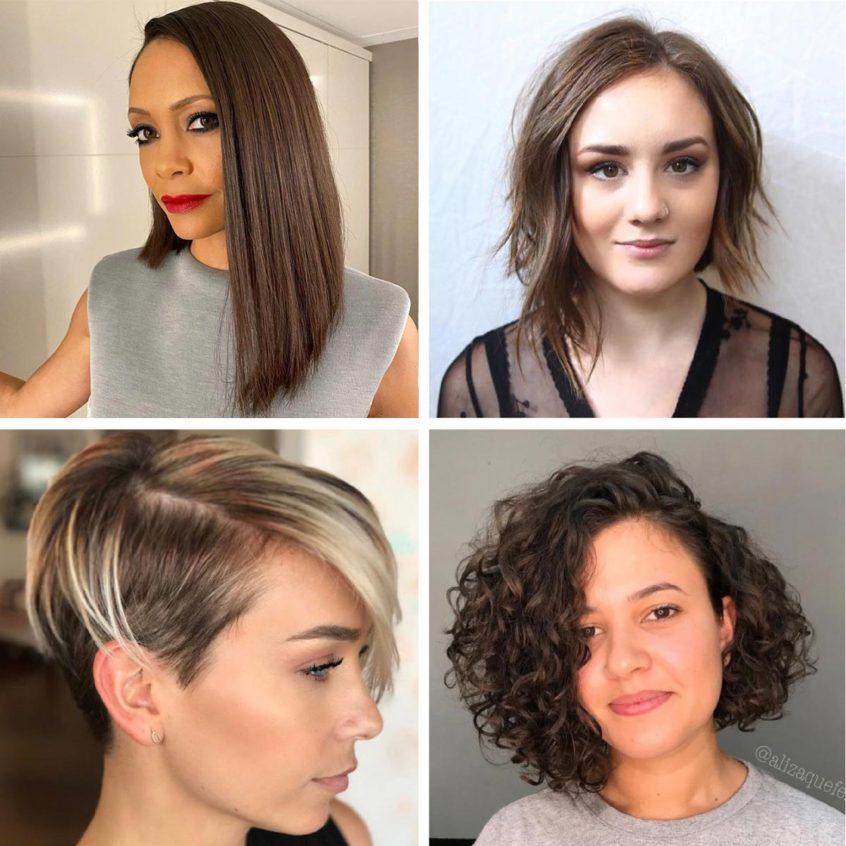 Edgy Asymmetrical Hairstyles 2021