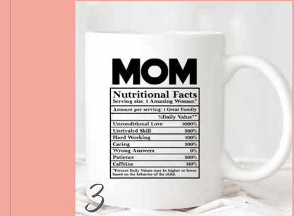 For the coffee drinker mom in your life- this mug is the funny and thoughtful. Available on Etsy- here.