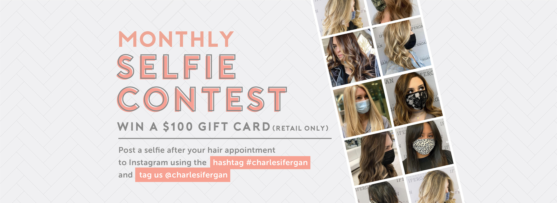 Monthly Selfie Contest - Win a $100 Gift Card (Retail Only)
