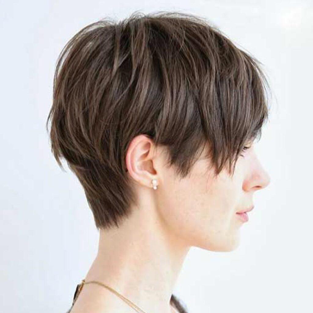 Pixie haircut for summer