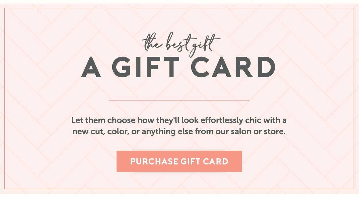 The best gift for any occasion: A Charles Ifergan Gift Card. Let them choose how they'll look effortlessly chic